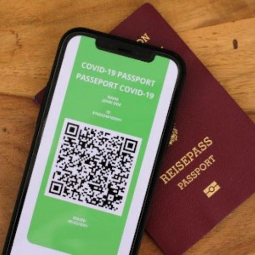Pasaporte Covid.