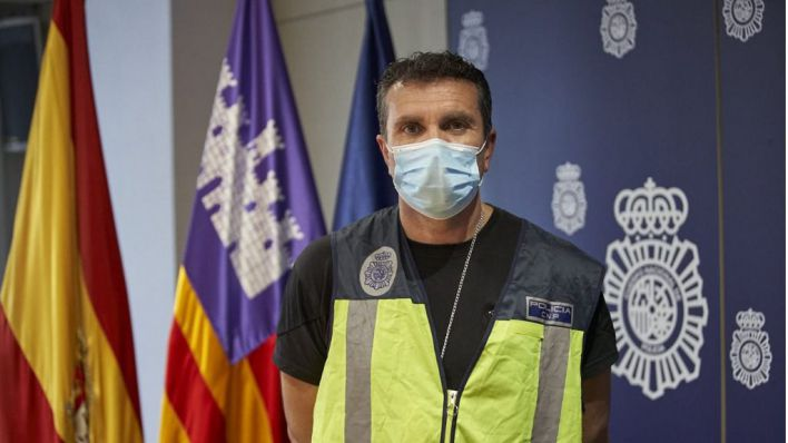 Subinspector Manuel Gallardo.