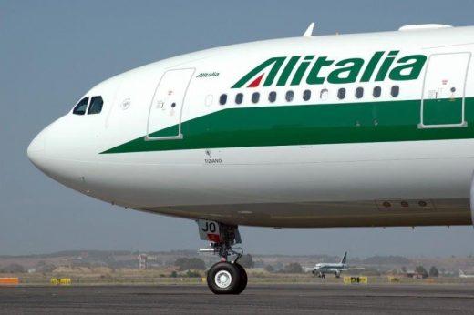 Avión de Alitalia.