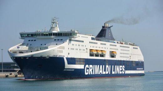 Buque de la flota de la naviera Grimaldi