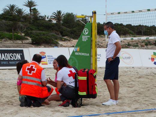 (Fotos) Arranca la Copa del Rey y de la Reina de vóley playa