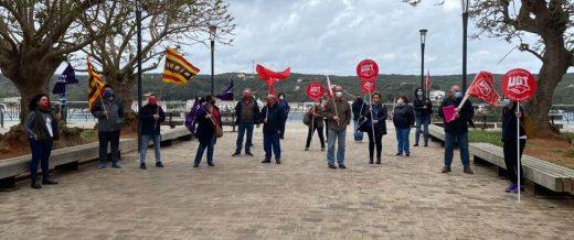 Imagen de la concentración en Maó.