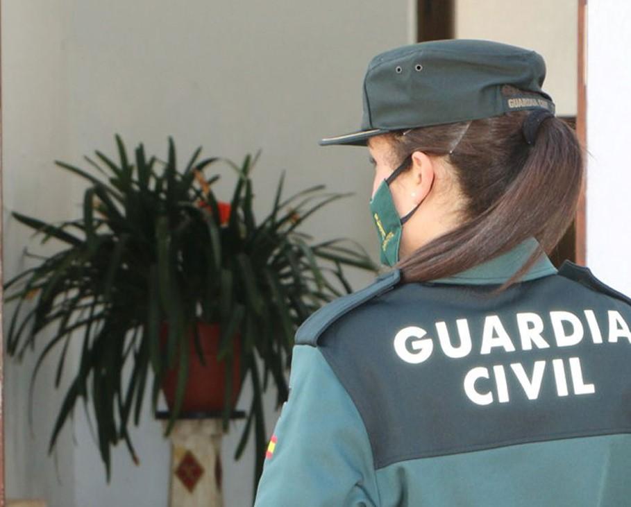 El detenido por la Guardia Civil es un conocido delincuente