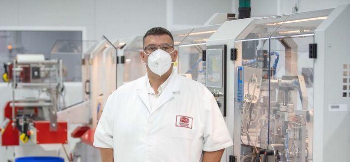 Ricardo Alonso, propietario de PSB5 en una imagen de Mallorcadiario