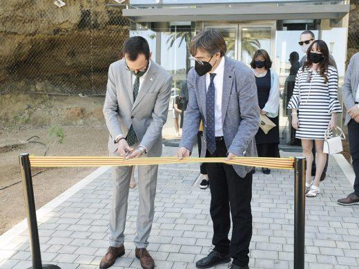 (Fotos) Maó inaugura el segundo ascensor