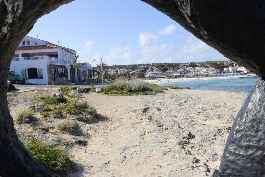 Playa de Punta Prima en Sant Lluís (Foto: Tolo Mercadal)