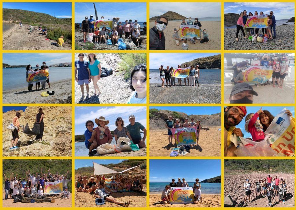 """35 grupos de Menorca han participado en el programa """"Clean Up The Med"""""""