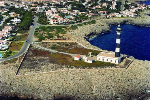 Faro des Cap d'Artrutx en una imagen de la Autoridad Portuaria de Baleares