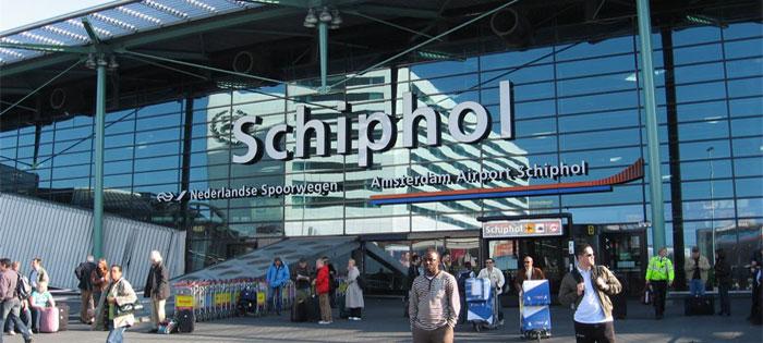Aeropuerto de Schiphol en Amsterdam.