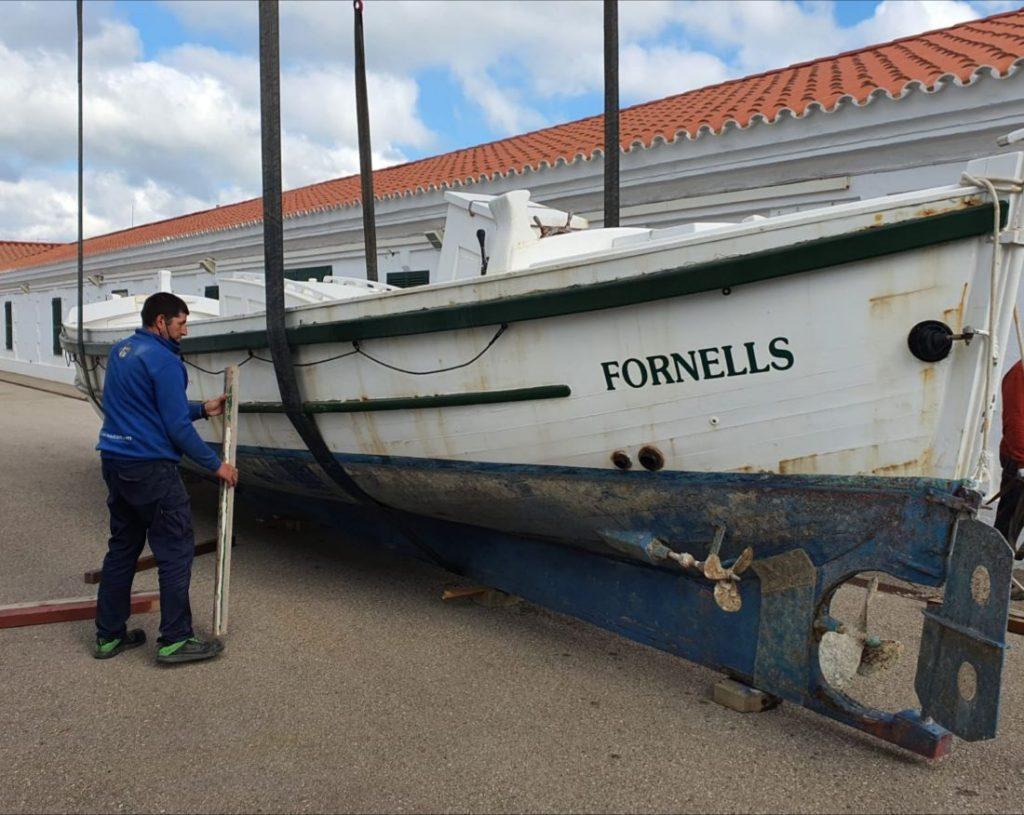 Bote salvavidas de Fornells