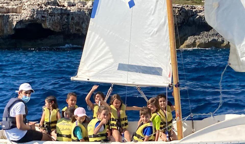 Clase de vela ligera (Fotos: CN Ciutadella)
