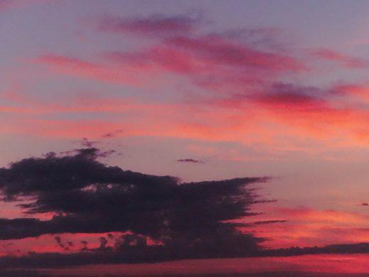 (Fotos) Así se pone el sol por Ciutadella