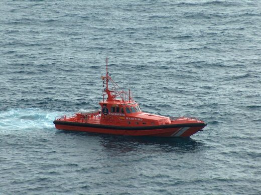 Embarcación de Salvamento Marítmo.