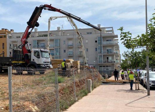 Imagen del lugar del accidente (Fotos: Tolo Mercadal)