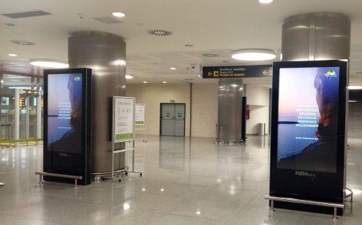 Llegada al aeropuerto de Menorca