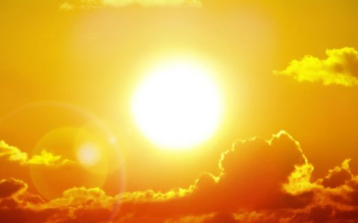 Llegan días de mucho calor.
