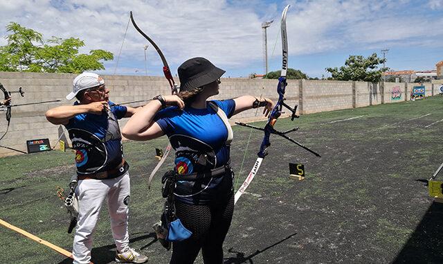 Imagen de la competición femenina.