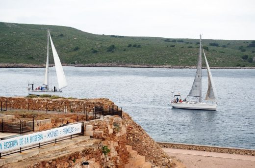 Una imagen de la regata (Foto: Menorca Reserva Biosfera)