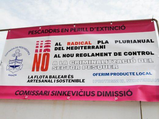 """Los pescadores de Menorca """"en peligro de extinción"""" contra la normativa europea"""