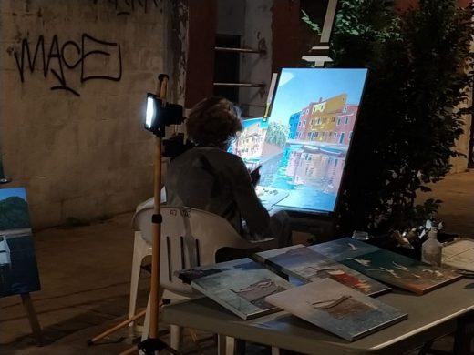 (Fotos) El puerto de Maó se llena de arte