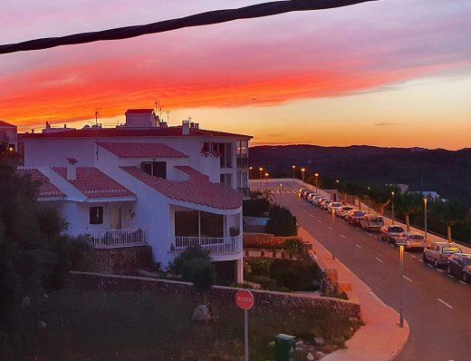 Puesta de sol en Maó (Foto: Fernando Andreu Garcia)