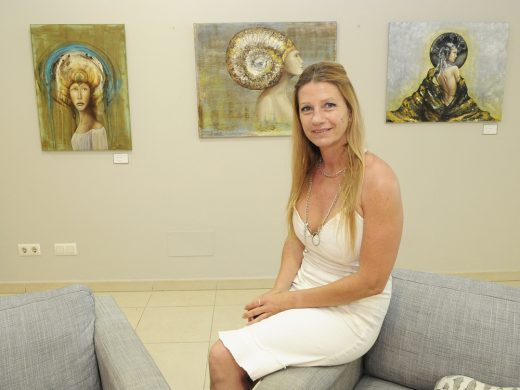 La menorquina Pons Livermore exhibe su arte