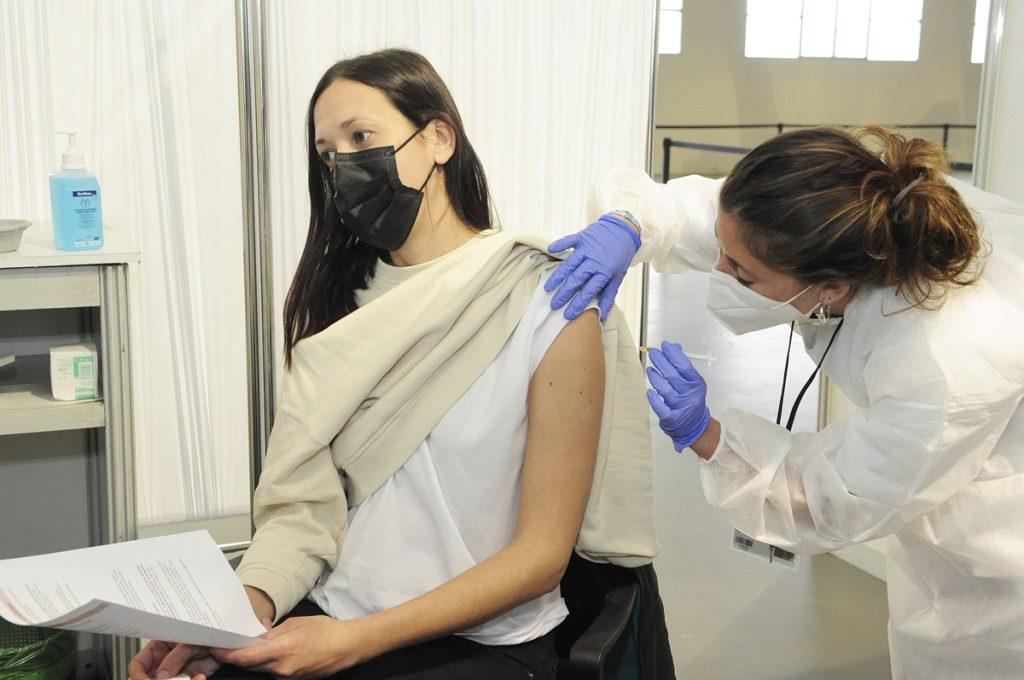 Vacunación en Maó