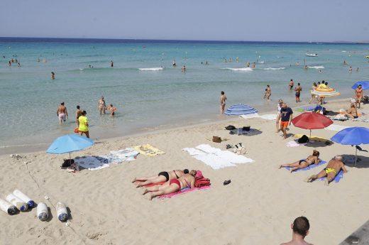 Playas sin británicos.