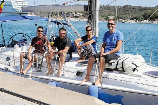 El velero Irifi volverá al puerto de Maó el 14 de julio (Foto: Tolo Mercadal)