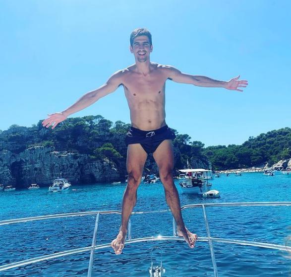 Moreno, en una de las fotografías que ha colgado en Instagram.