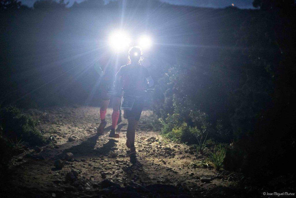 """Los dos """"talaiots"""" por los que pasarán los atletas se iluminarán para la ocasión."""