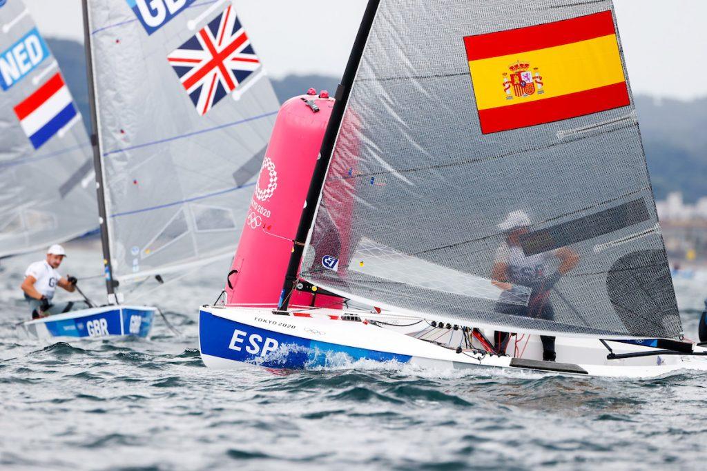 Gran estreno del menorquín en los Juegos Olímpicos (Foto: SailingShots)