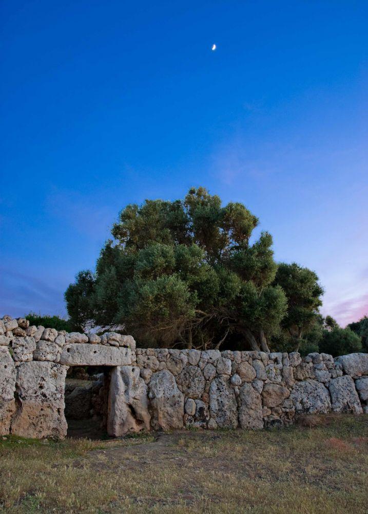 Muro del poblado talayótico de Son Catlar, Ciutadella.