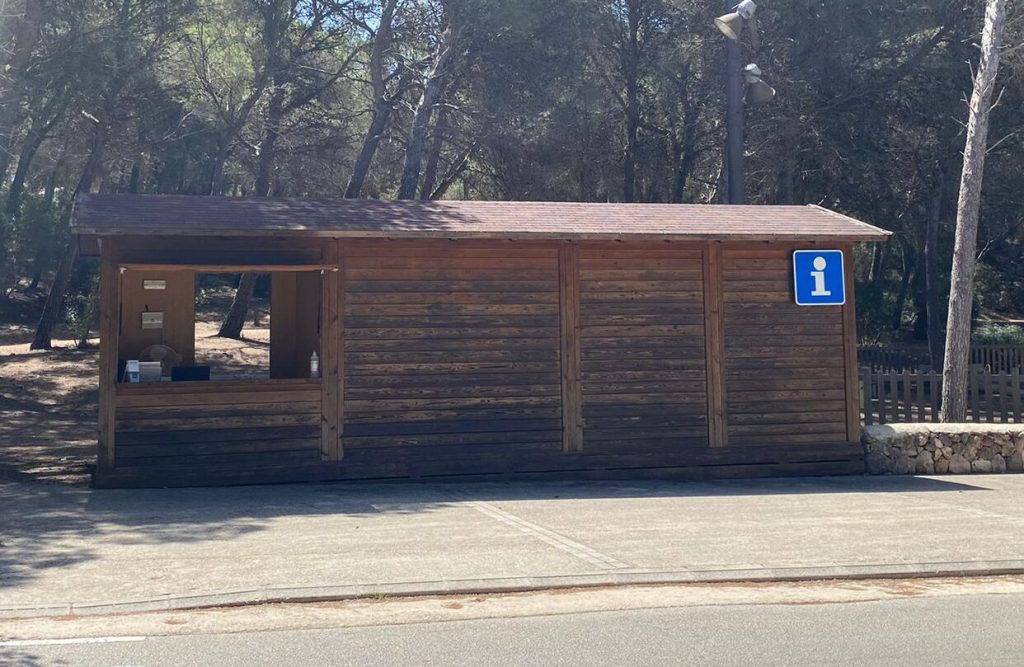 Imagen de la nueva oficina junto al parque forestal.