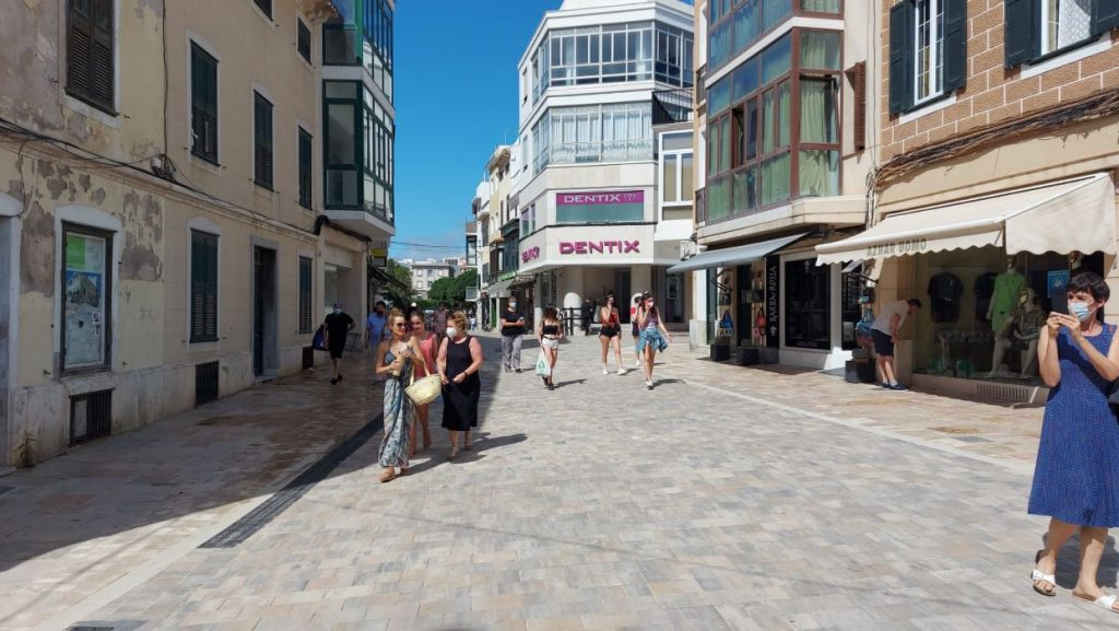 Calle Ses Moreres de Maó