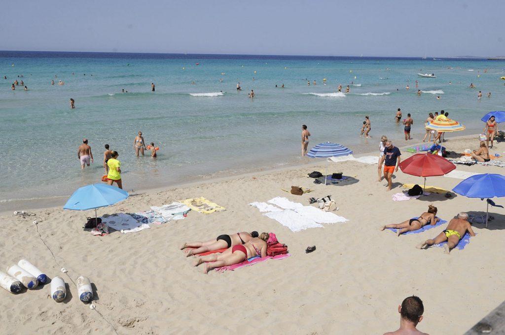 Playa de Son Bou.