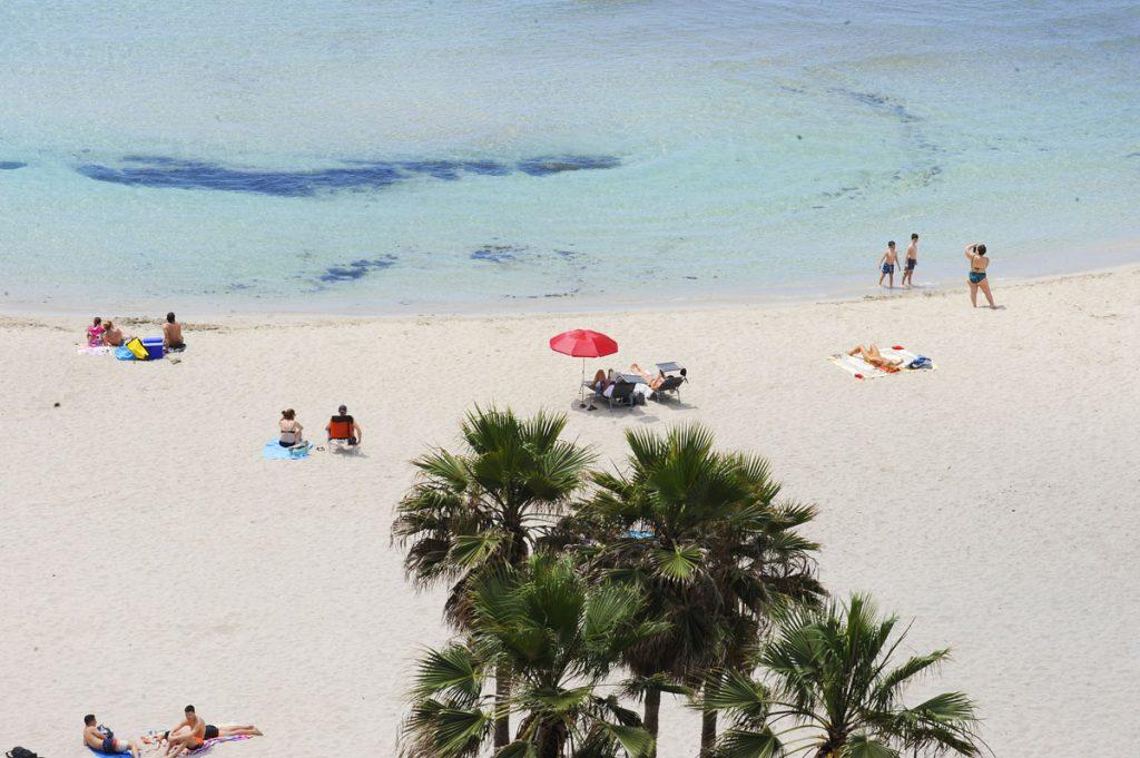 Imagen de archivo de la playa de Cala En Porter.