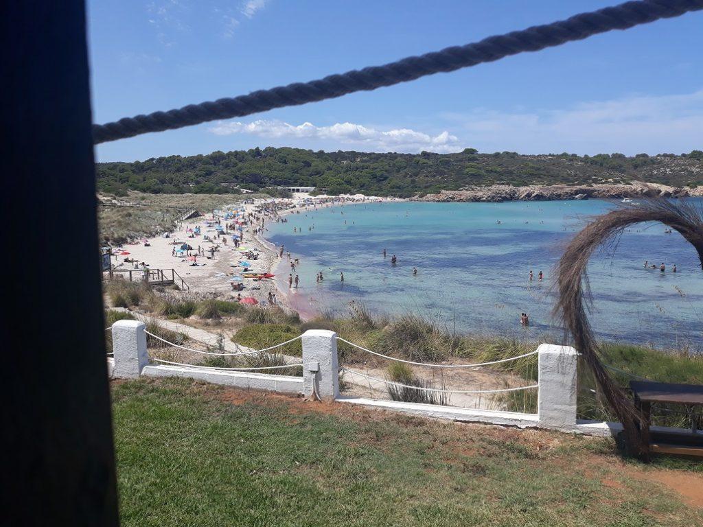 Playa de Arenal de Son Saura.