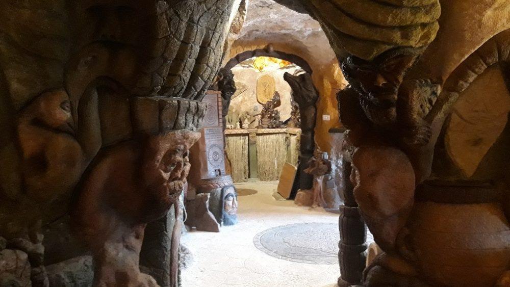 Imagen del interior de la cueva.