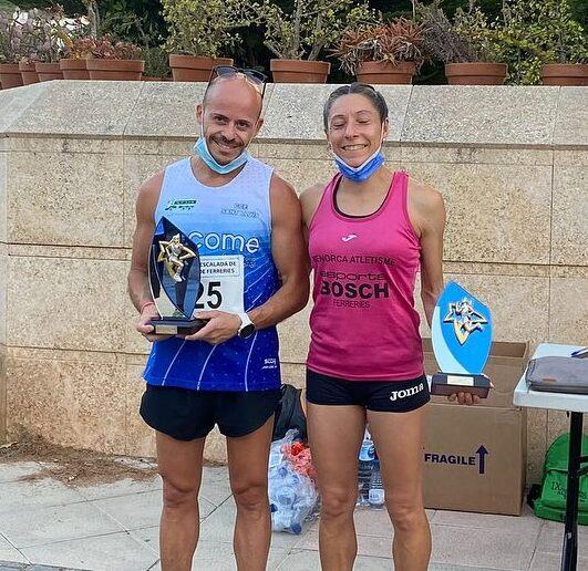 Dani Pieres y Lita López, ganadores absolutos.