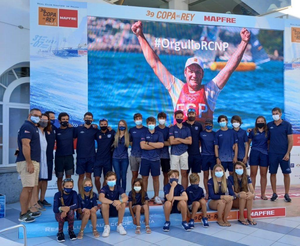 El Real Club Náutico de Palma ha seguido en directo la última regata del menorquín Joan Cardona (Foto: Mariajo)
