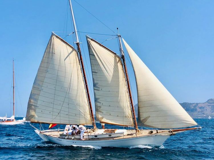 Un momento de la regata (Fotos: CN Ciutadella)