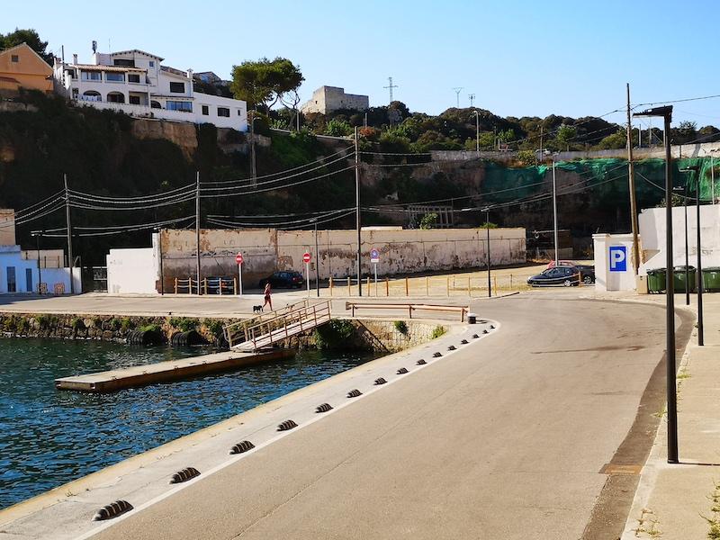Imagen de Cala Figuera, en el Puerto de Maó.