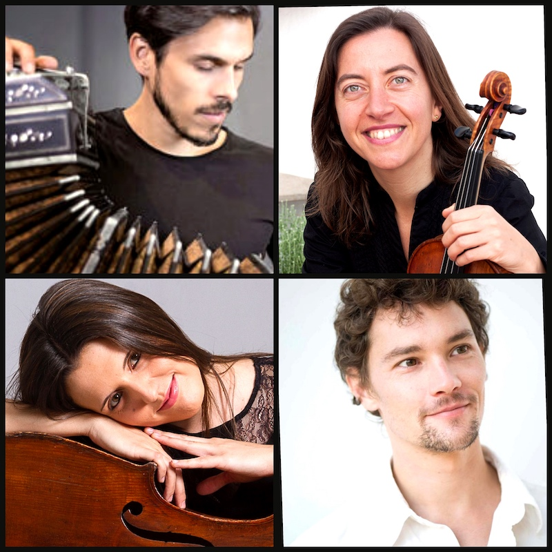 Assumpta Pons, Joan Taltavull, Claudio Constantini y Mireya Peñarroja serán los encargados de interpretar este homenaje a Piazzolla.
