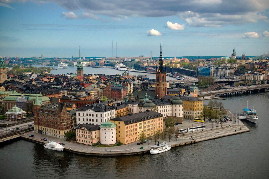 Una imagen de Estocolmo.
