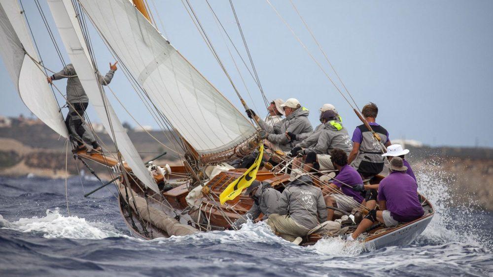 Viola (1908) ha participado por primera vez en la regata de Maó (Fotos: Luis Fernández)