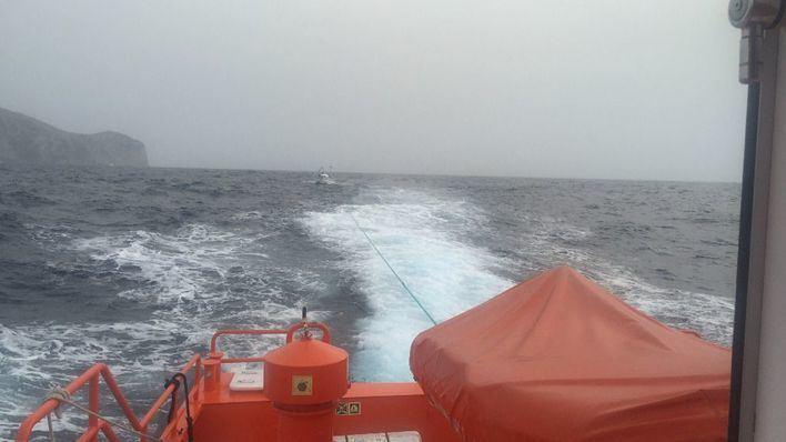 Remolcador de Salvamento Marítimo.
