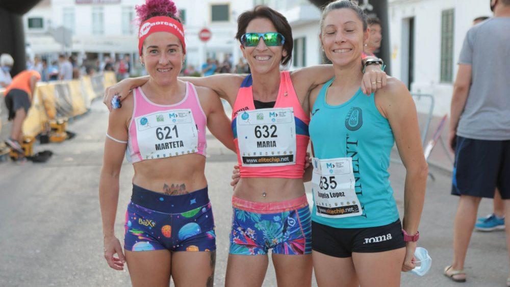 Imagen del podio femenino (Fotos: Carlos Hurtado)