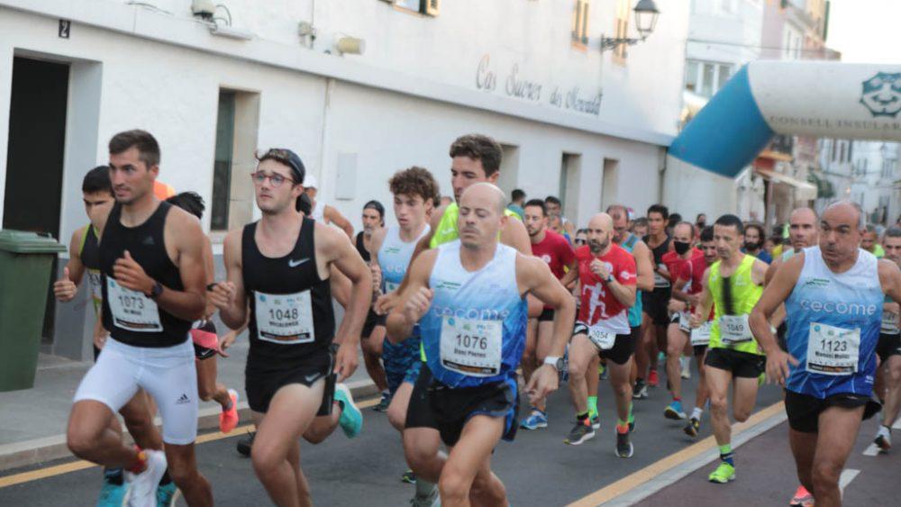 Una imagen de la carrera absoluta (Fotos: Carlos Hurtado)