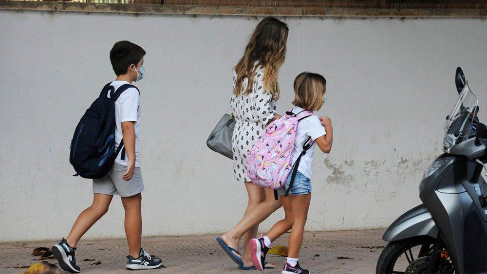 Inicio del curso escolar 2021-22 en Menorca (Foto: Tolo Mercadal)